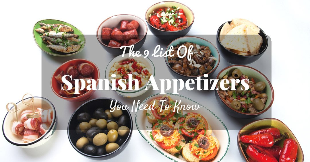 List of Spanish appetizers