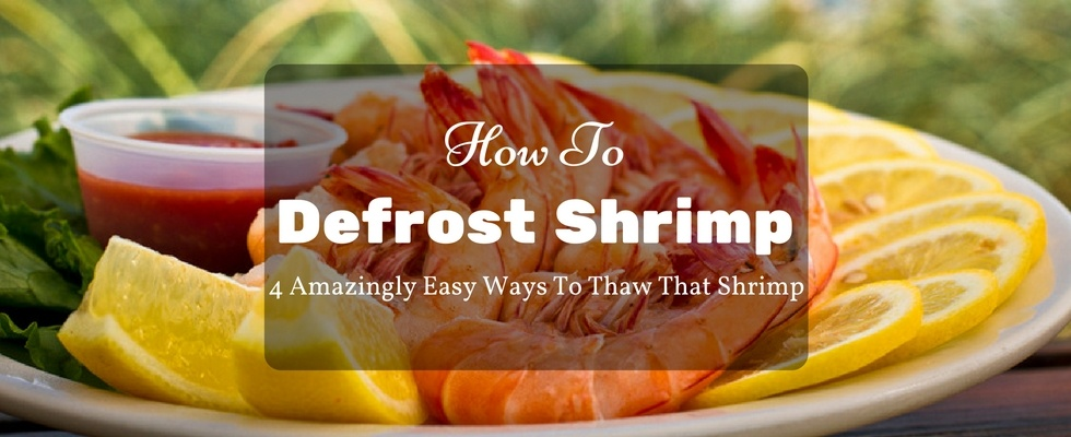 How to defrost shrimp