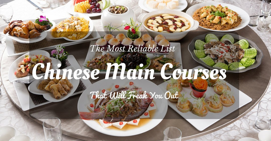 List of chinese main courses