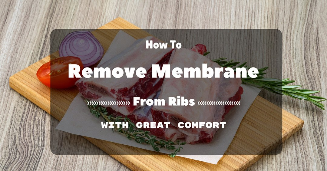 how to remove membrane from ribs