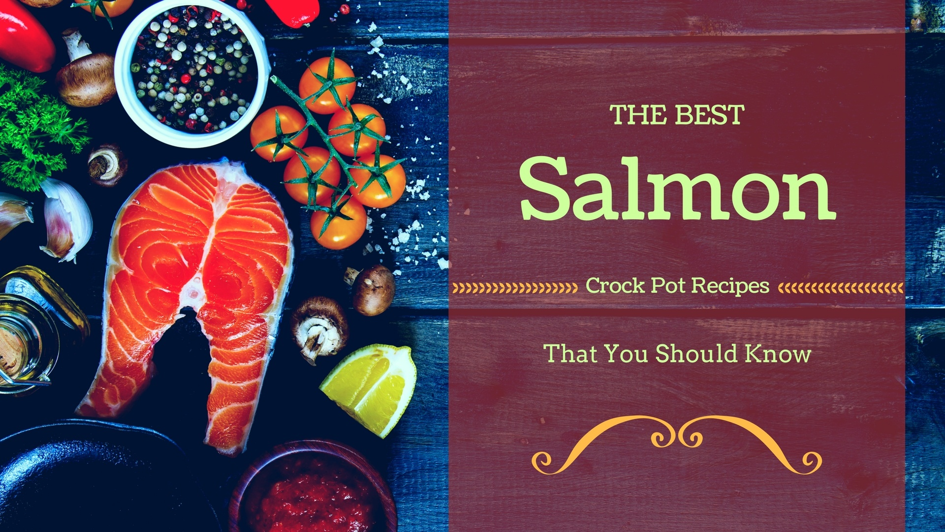 Salmon crock pot recipes